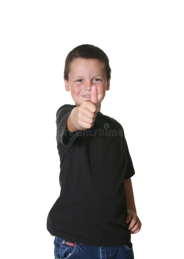 Niño joven con manierismos expresivos foto de archivo libre de regalías