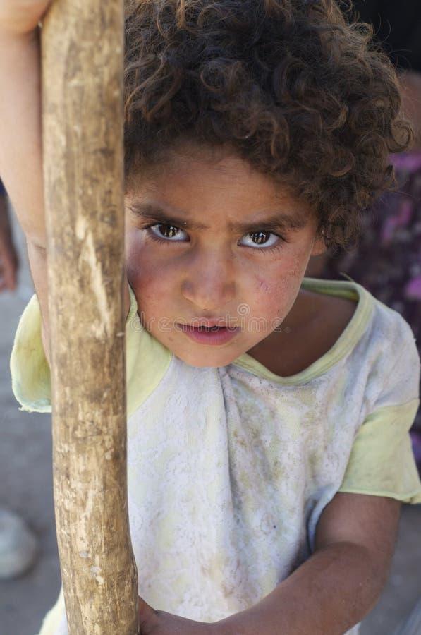 Niño kurdo fotografía de archivo libre de regalías