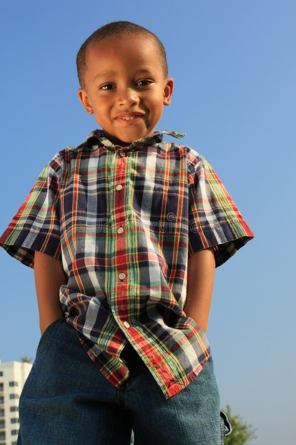 Niño modelo joven fotos de archivo libres de regalías