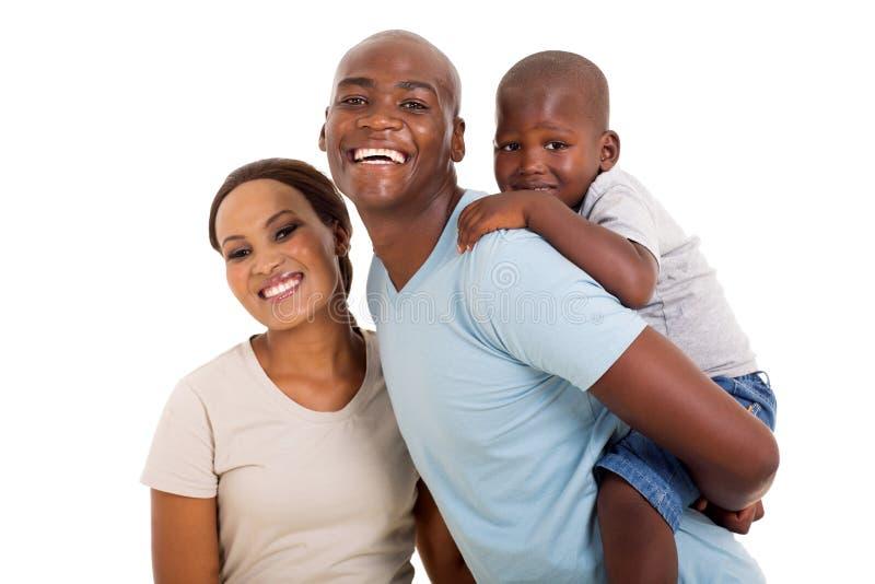Niño negro de la pareja foto de archivo