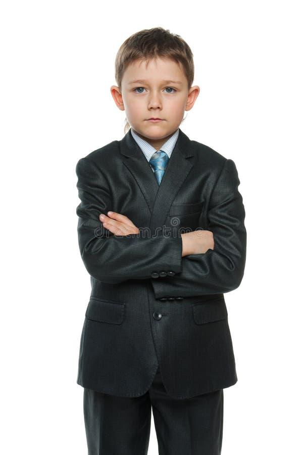 Niño pequeño confidente en juego foto de archivo libre de regalías