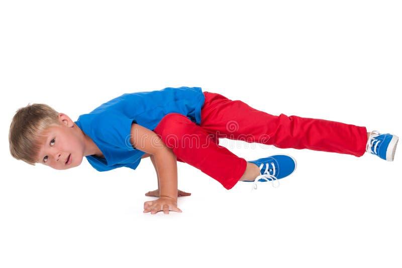 Niño pequeño del baile imagenes de archivo