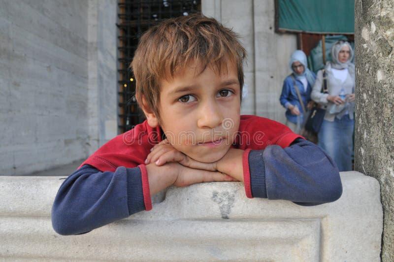 Niño sirio fotografía de archivo libre de regalías
