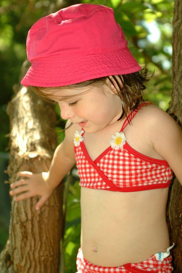 Niño-Verano Cutie imagen de archivo