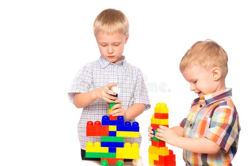 Constructor de las estructuras de los niños imagen de archivo libre de regalías