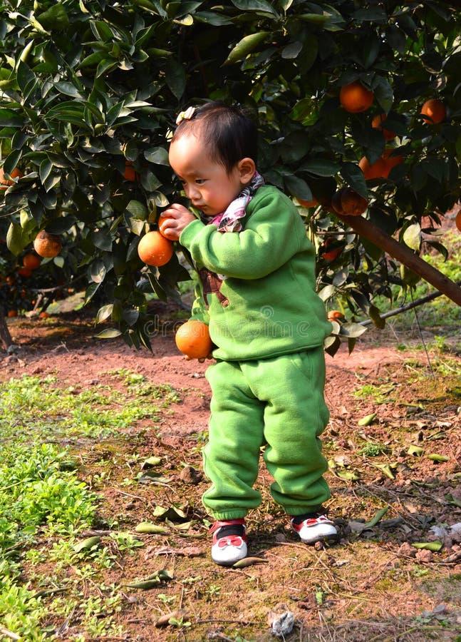 Niños asiáticos fotografía de archivo libre de regalías