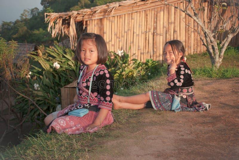 Niños de Karen del atasco de lunes fotos de archivo