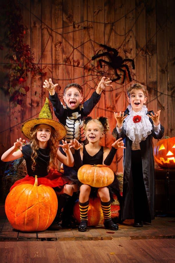 Niños del mago foto de archivo