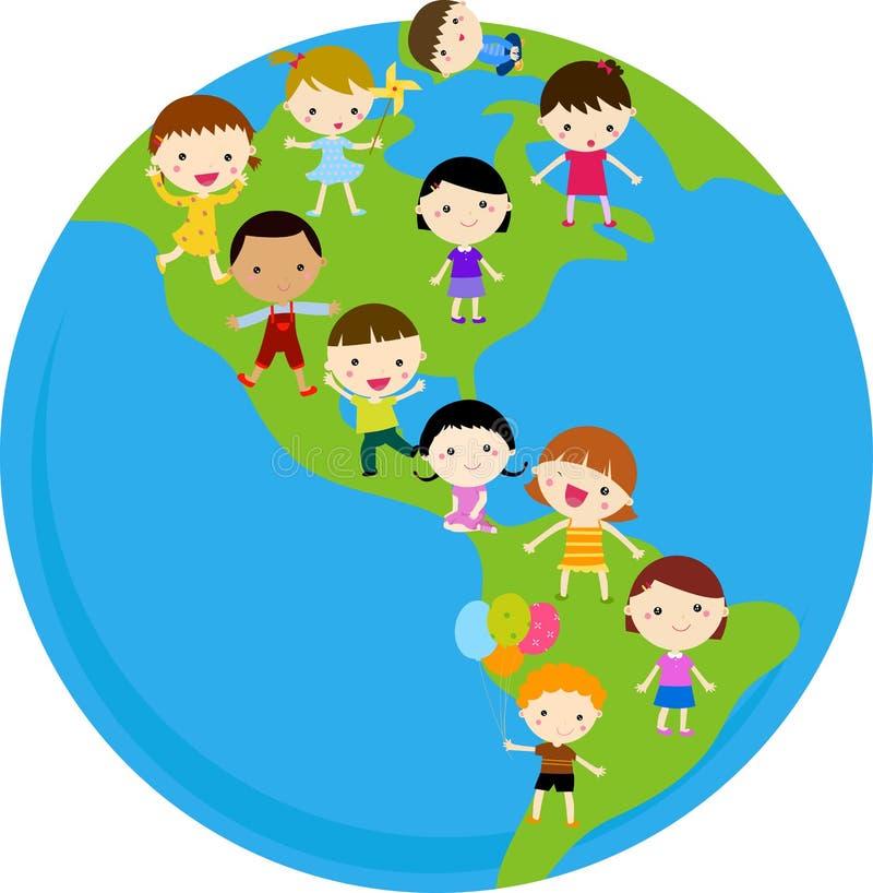 Niños del mundo libre illustration