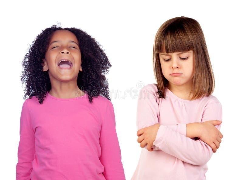 Niños divertidos foto de archivo libre de regalías