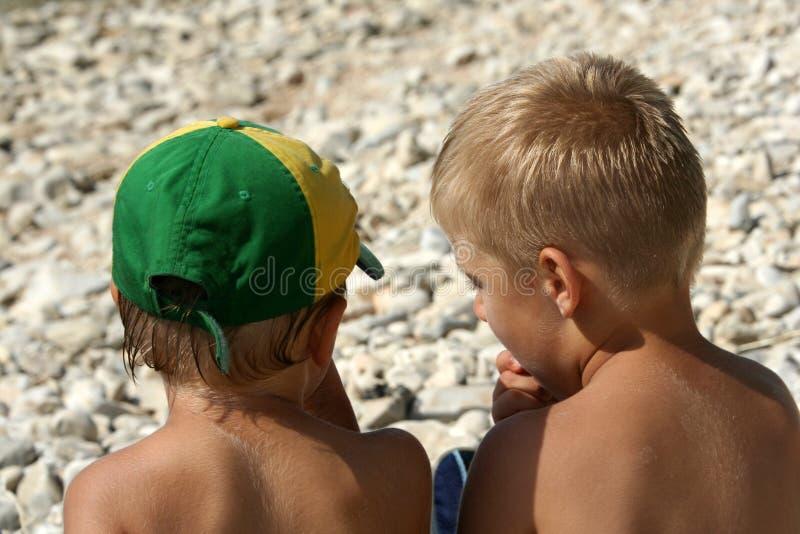 Download Niños en la playa foto de archivo. Imagen de personas - 1293122