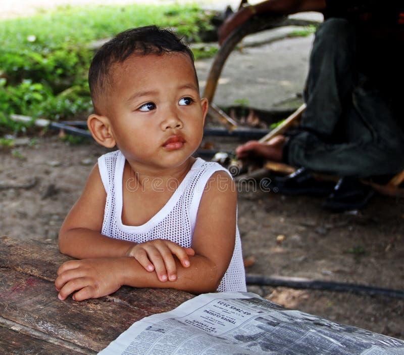 Niños en Malasia foto de archivo libre de regalías