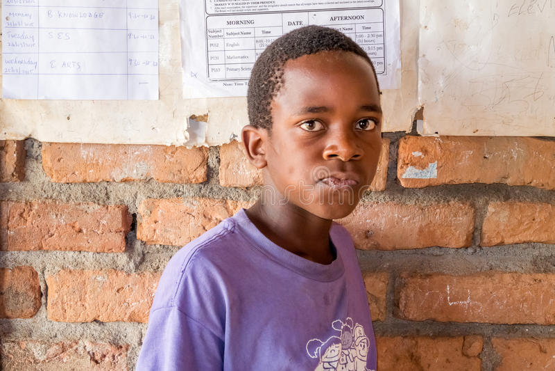 Niños en Malawi imagenes de archivo