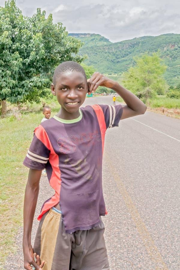 Niños en Malawi imagen de archivo