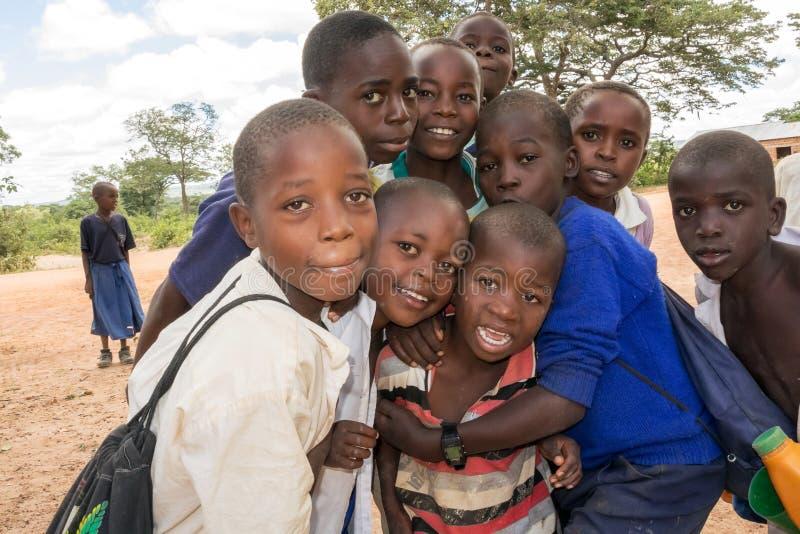 Niños en Tanzania imagen de archivo