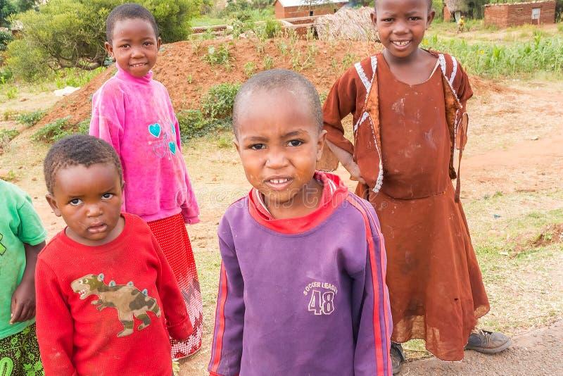 Niños en Tanzania fotos de archivo libres de regalías