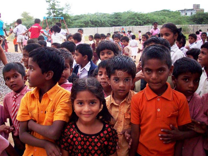 Niños indios imagenes de archivo