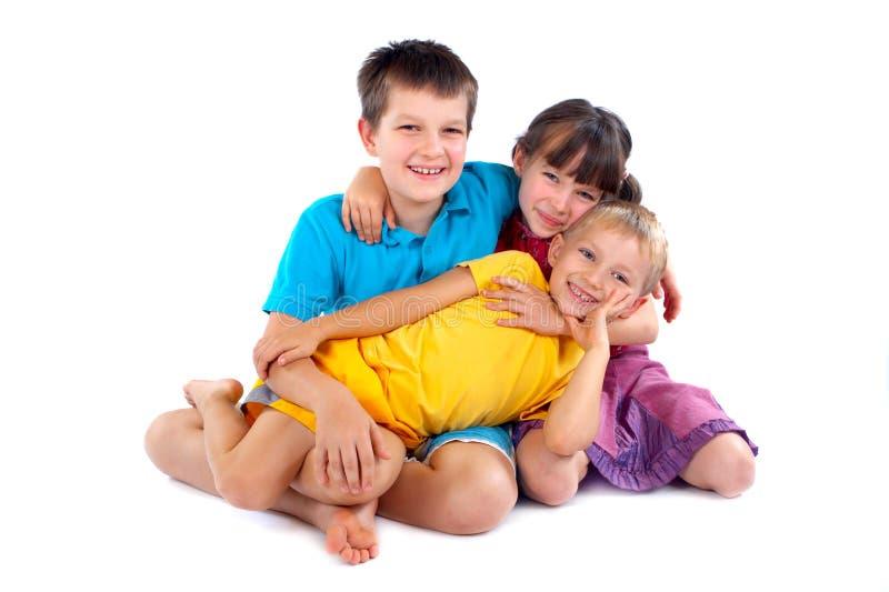 Niños que se divierten fotografía de archivo