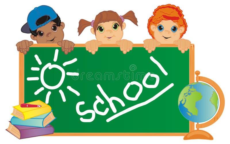 Niños y Sun libre illustration