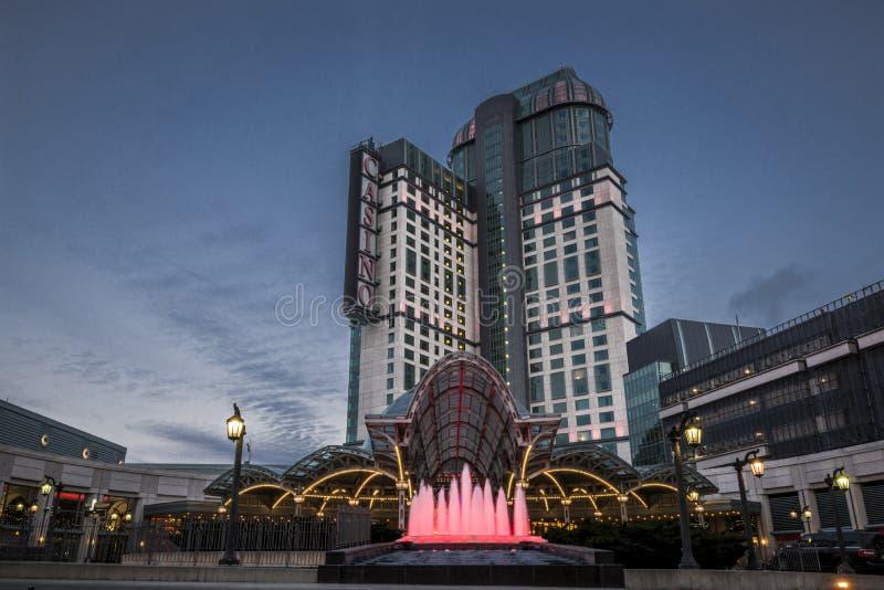 Niagara casino royalty free stock photo