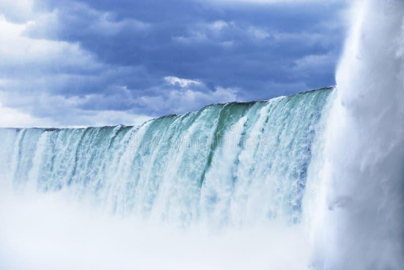 Niagara Falls. Horseshoe in Canada stock photos