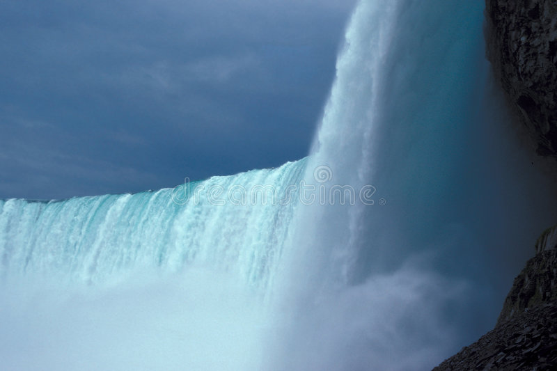 Niagara Falls. Waterfall, Niagara Falls, Ontario, Canada royalty free stock photo
