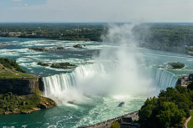 Download Niagara Falls stock photo. Image of churn, rainbow, fall - 26505850
