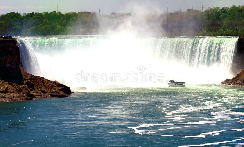 Download Niagara Falls stock image. Image of blue, misty, mist - 2716733