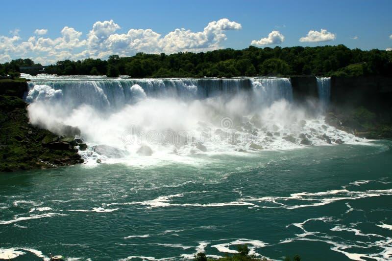 Niagara Falls. The American Falls of Niagara royalty free stock photos