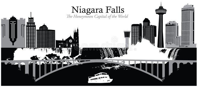 Niagara Falls illustration stock