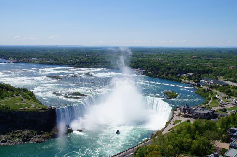 Niagara Falls. Niagara Falls, bird eye view stock photography