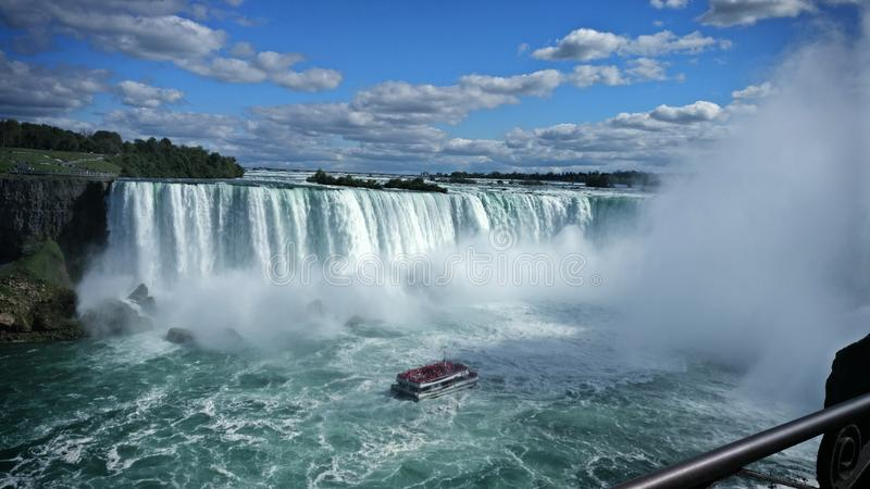 Niagara Falls Canadá foto de stock
