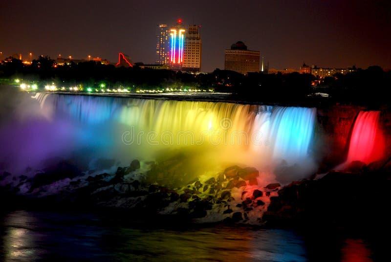 Download NIAGARA FALLS Canada stock photo. Image of wonder, nightshot - 6347636