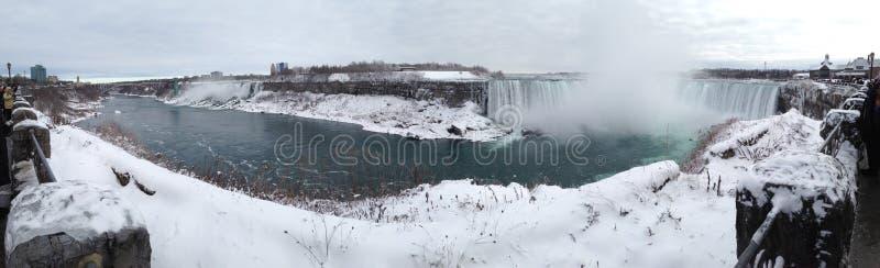 2012 Niagara Falls Winter Canada New York royalty free stock photography
