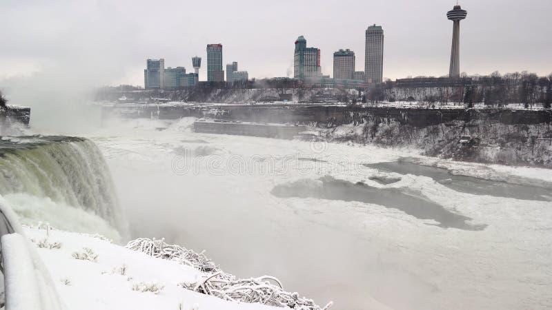 Niagara Falls Canada Skyline stock photography