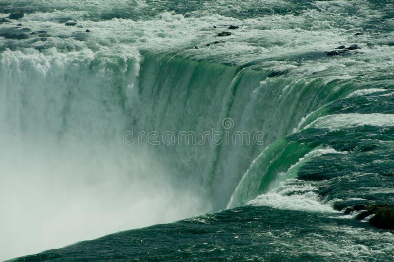 Niagara Falls con vapor fotos de archivo libres de regalías
