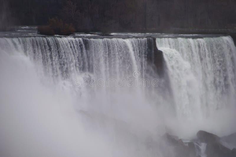 Niagara Falls detalj fotografering för bildbyråer