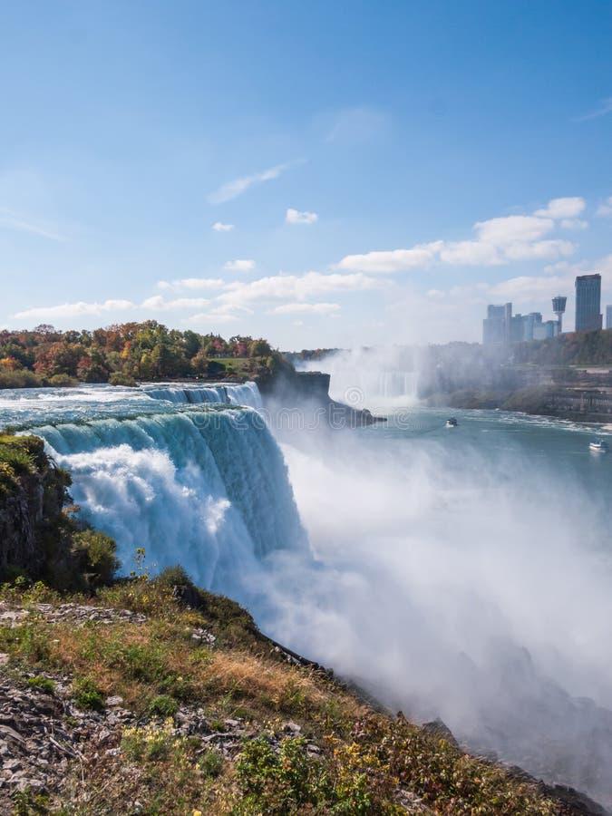 Niagara Falls en otoño, los E.E.U.U. fotos de archivo libres de regalías