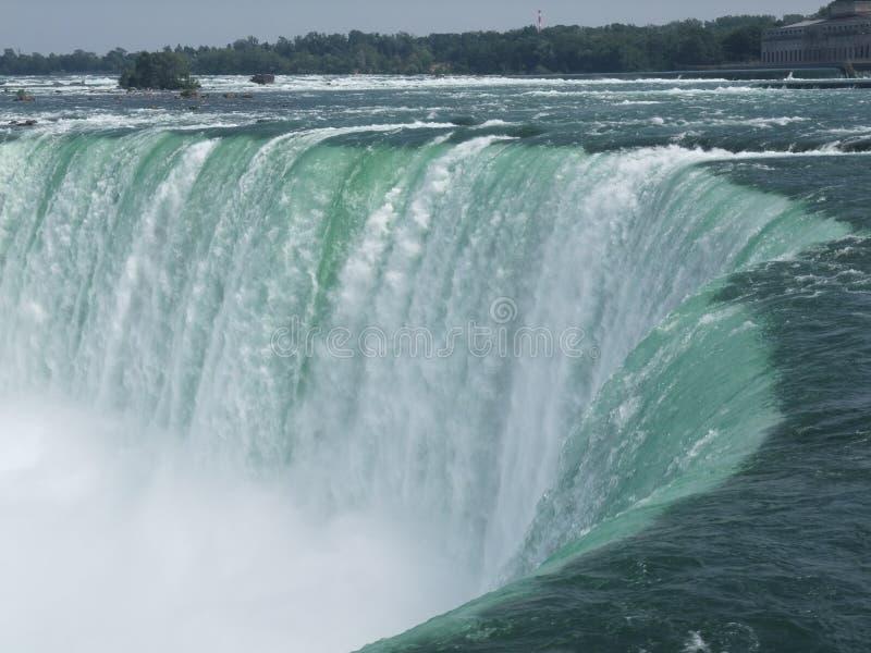 Niagara Falls från Kanada royaltyfri foto