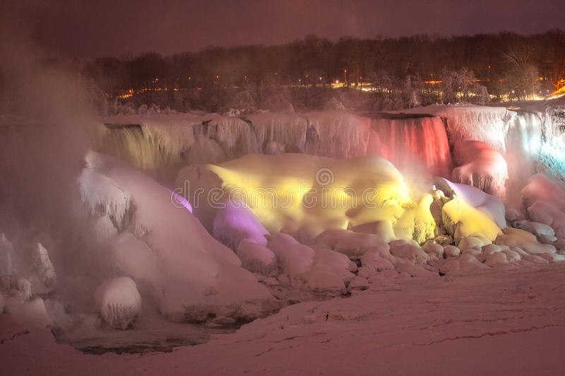Niagara Falls Frozen Stock Photo Image Of Jill Environment