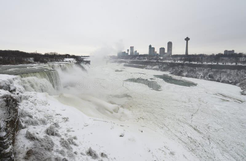 Niagara Falls Frozen stock photography