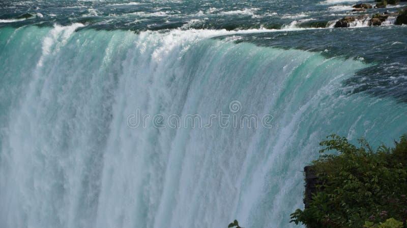 Niagara Falls Horseshoe Waterfall arkivfoto