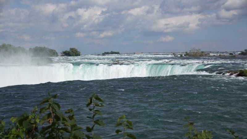 Niagara Falls Horseshoe Waterfall royaltyfri bild