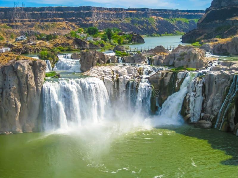 Niagara Falls Idaho arkivfoto