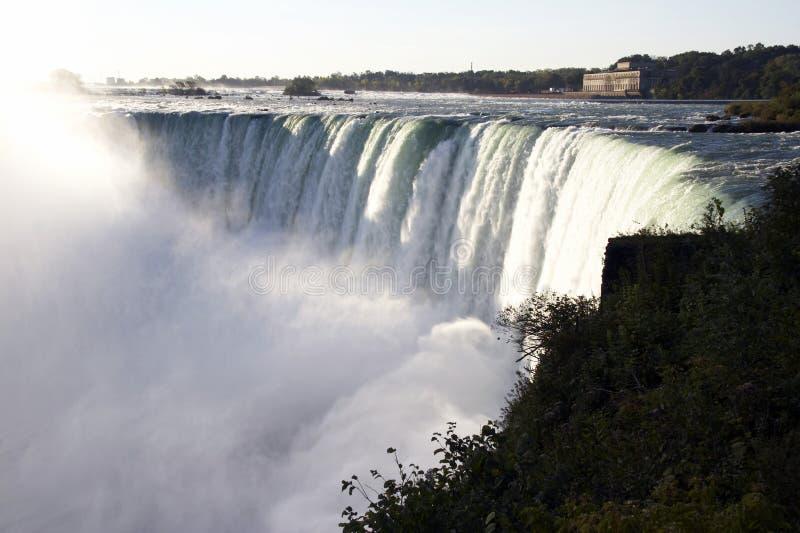 Niagara Falls - la herradura cae (las caídas canadienses) fotos de archivo libres de regalías