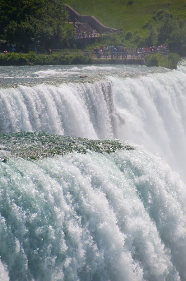 Niagara Falls, New York, USA stockfotos