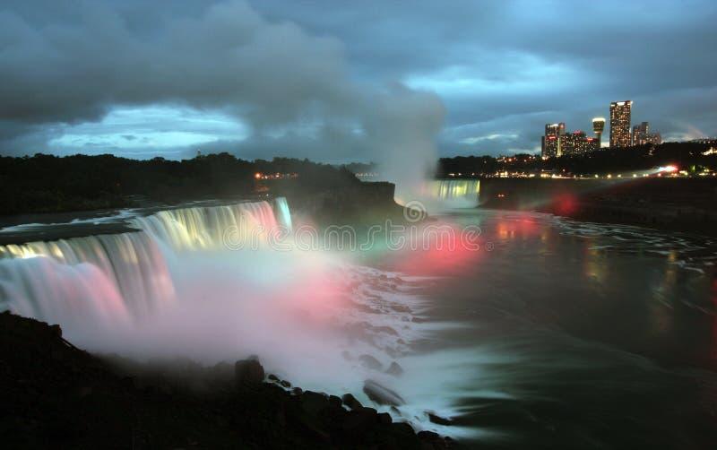 Download Niagara Falls At Night Stock Photography - Image: 6720422