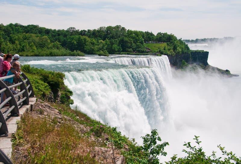 Niagara Falls, Nueva York, los E.E.U.U. fotografía de archivo