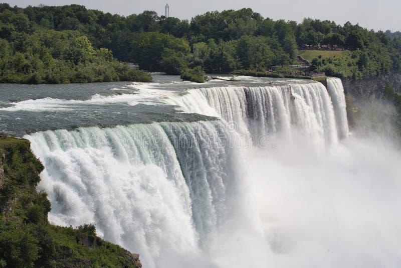Niagara Falls NY, USA arkivfoton