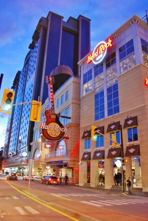 Hard Rock Cafe At Niagara Falls Canada Editorial Stock